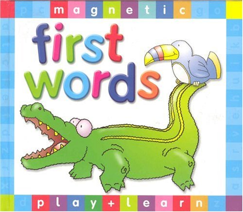 9781845100490: First Words (Magnetic Play & Learn)