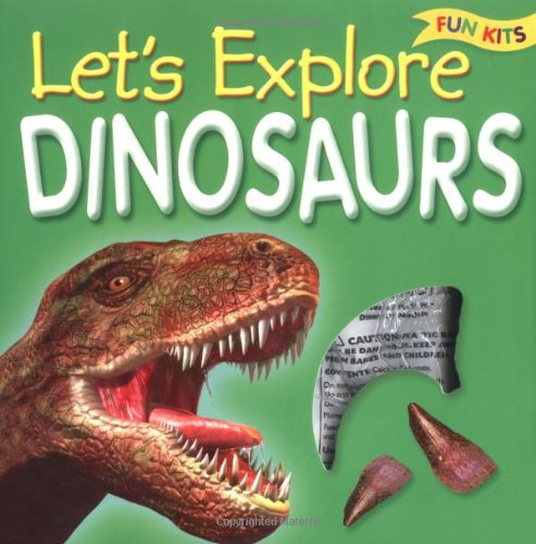 9781845104290: Lets Learn Dinosaurs (Fun Kits)