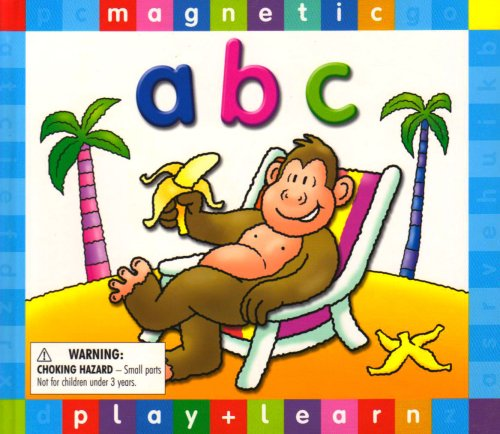 9781845107277: ABC - Magnetic Book (Magnetic Play & Learn)