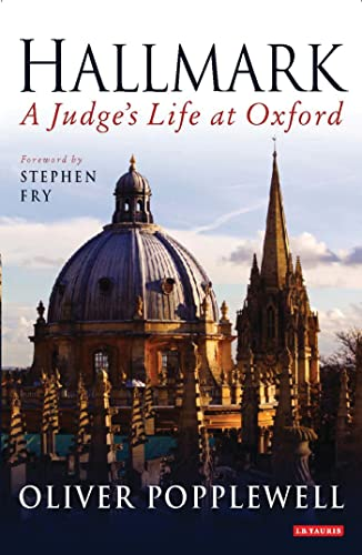 9781845117818: Hallmark: A Judge's Life at Oxford