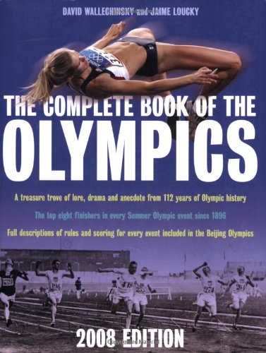 9781845133306: The Complete Book of the Olympics 2008