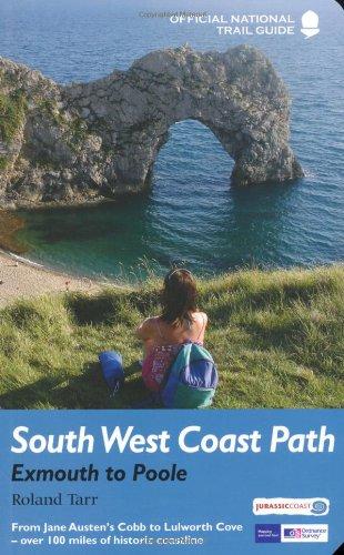 9781845136420: South West Coast Path: Exmouth to Poole: National Trail Guide (National Trail Guides)