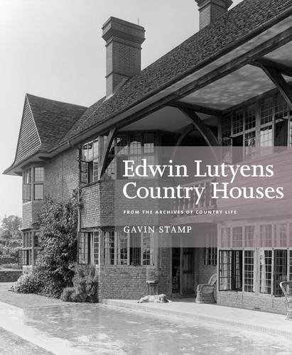 9781845137656: Edwin Lutyens Country House: From the Archives of Country Life