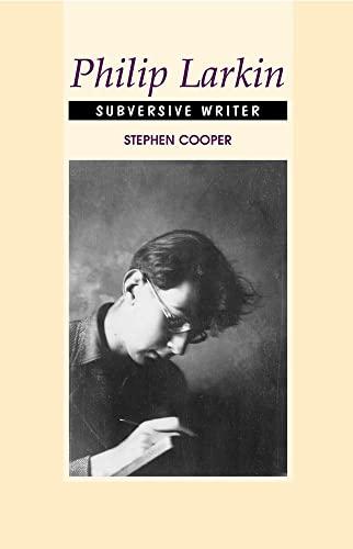 9781845190002: Philip Larkin: Subversive Writer