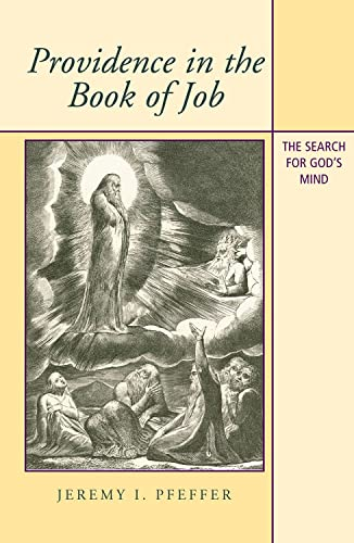 Providence In The Book Of Job: The Search For God's Mind: Jeremy I. Pfeffer