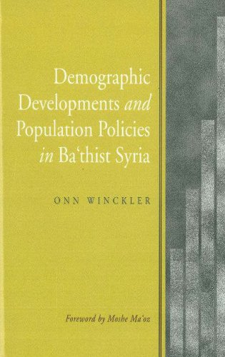 9781845192037: Demographic Developments and Population Policies in Bath'ist Syria