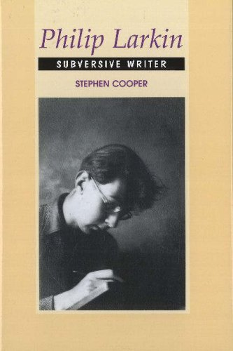 9781845192235: Philip Larkin: Subversive Writer