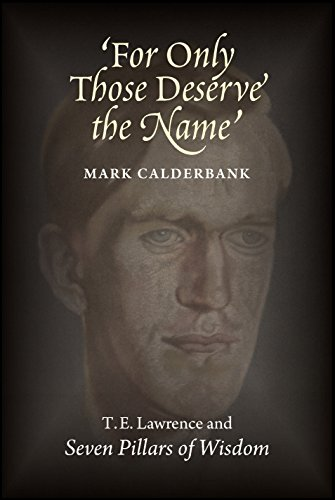 For Only Those Deserve the Name: T: Mark Calderbank