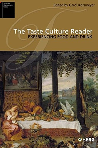 9781845200602: The Taste Culture Reader: Experiencing Food and Drink (Sensory Formations)