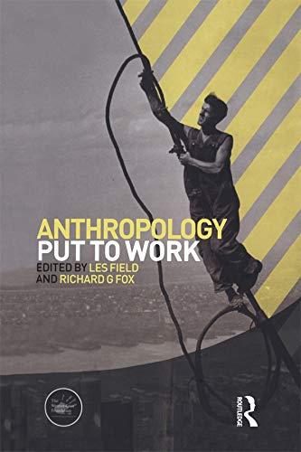 9781845206000: Anthropology Put to Work (Wenner-Gren International Symposium Series)