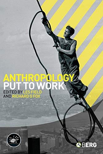 9781845206017: Anthropology Put to Work (Wenner-Gren International Symposium Series)