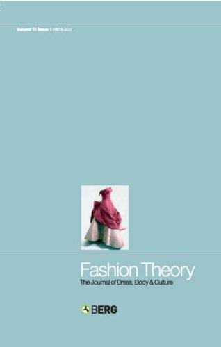 Fashion Theory: Volume 11, Issue 1