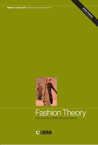 Fashion Theory Volume 11 Issues 2 and 3 (v. 11, Issues 2 & 3)