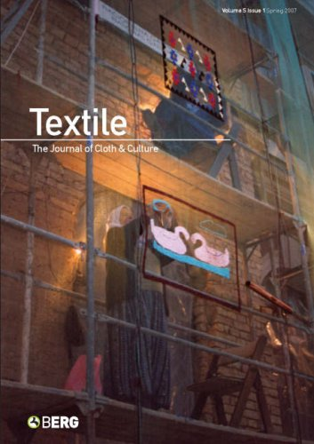 Textile: The Journal of Cloth & Culture, Volume 5 Issue 1, Spring 2007: Harper, Catherine; Ross...