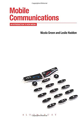 9781845208141: Mobile Communications: An Introduction to New Media (Berg New Media Series)