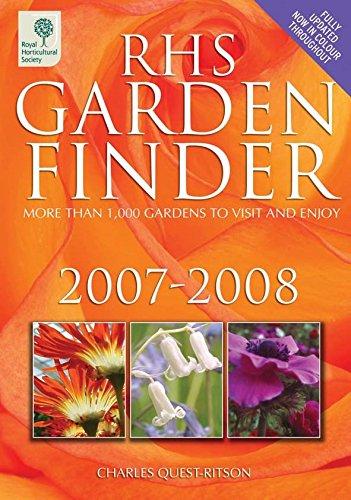 9781845250416: RHS Garden Finder 2007-2008 (Rhs Garden Finder (Royal Horticultural Society))