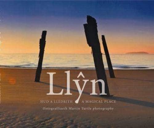 Hud a Lledrith Llyn/Llyn a Magical Place (Hardback): Martin Turtle