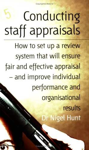 9781845280093: Conducting Staff Appraisals