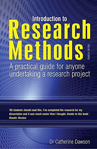 Introduction to Research Methods 4th Edition: A Practical Guide for Anyone Undertaking a Research ...