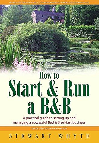 9781845284602: How to Start & Run a B&B: 3rd edition
