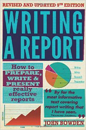 9781845284701: Writing a Report: 9th edition