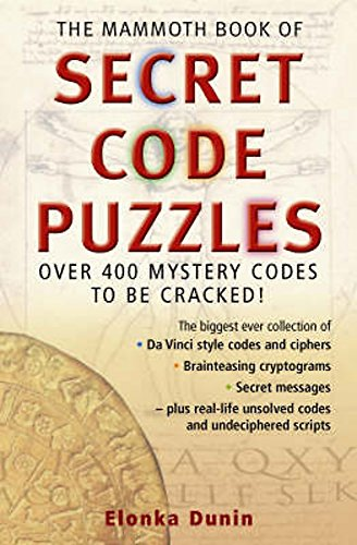 9781845293253: The Mammoth Book of Secret Code Puzzles (Mammoth Books)