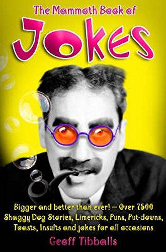 9781845293840: The Mammoth Book of Jokes New edn (Mammoth Books)