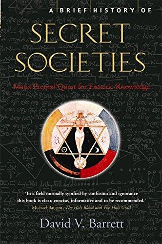 9781845296155: A Brief History of Secret Societies (Brief Histories)
