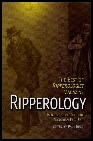 9781845296179: Ripperology: Jack the Ripper and the Victorian East End