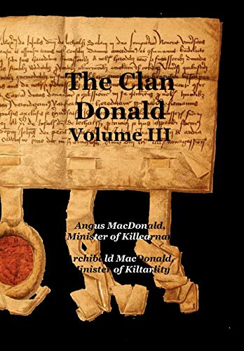9781845301330: The Clan Donald - Volume 3