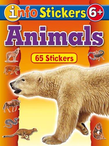 9781845314828: Animals (Info Stickers)