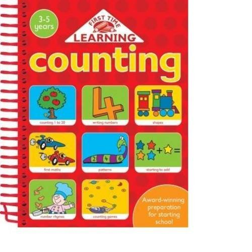 Counting (First Time Learning) (184531607X) by Nina Filipek