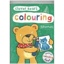 9781845319700: Clever Bear's Colouring Adventure
