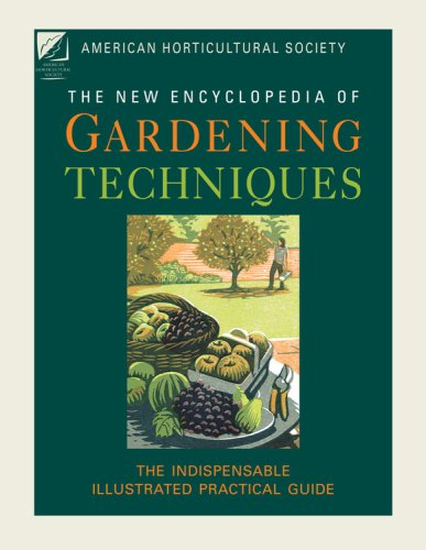 9781845334840: American Horticultural Society New Encyclopedia of Gardening Techniques