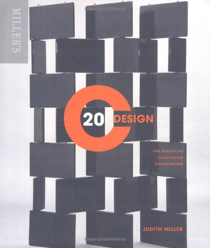 9781845335137: Miller's 20th Century Design (compact format): The definitive illustrated sourcebook