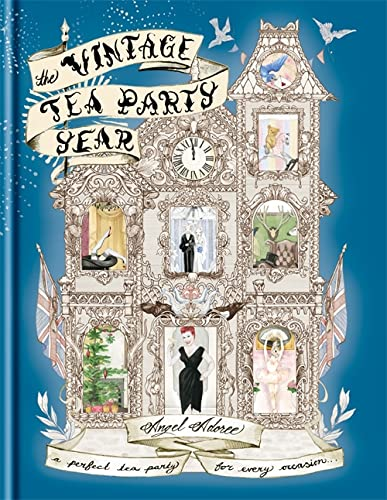 9781845337643: The Vintage Tea Party Year