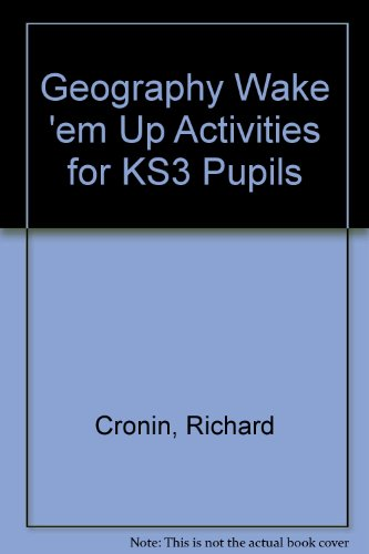 9781845340490: Geography Wake 'em Up Activities for KS3 Pupils