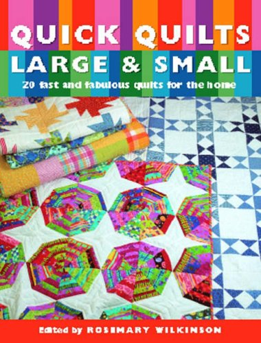 9781845370763: Quick Quilts Large & Small: 20 Fast and Fabulous Quilts for the Home