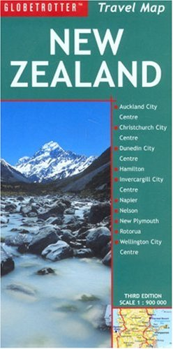9781845371036: New Zealand Travel Map (Globetrotter Travel Map)