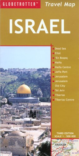 9781845373313: Israel Travel Map, 3rd (Globetrotter Travel Map)