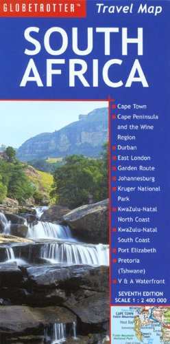 South Africa (Globetrotter Travel Map) [Idioma Inglés]