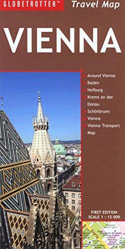 9781845379698: Travel Map Vienna (Globetrotter Travel: Vienna)