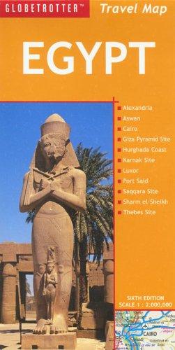 Egypt Travel Map (Globetrotter Travel Map): Gauldie, Robin