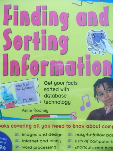 9781845383497: Learn ICT Collection 6 Books: Email & Multimedia Messages; Finding & Sorting Information; Spreadsheets, Graphs and Charts; Writing Programs; Pictures, Photos and Paintings; Invites, Posters and Presen