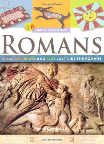 9781845386542: Hands-On History: The Romans (QED Hands-on History S.)