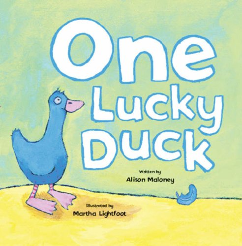 One Lucky Duck (Mini Board Books) (Mini Board Books): Alison Maloney