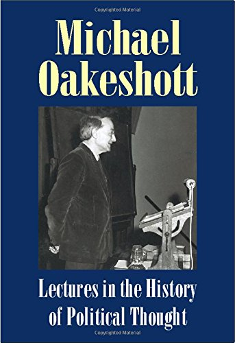 9781845400057: Lectures in the History of Political Thought (Michael Oakeshott: Selected Writings)