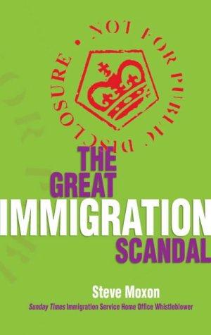 Great Immigration Scandal: Steve Moxon