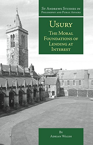 9781845403157: Usury: The Moral Foundations of Lending at Interest