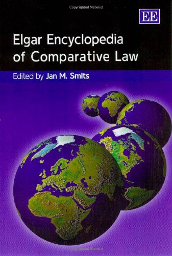 9781845420130: Elgar Encyclopedia of Comparative Law (Elgar Original Reference)